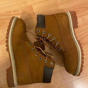 Timberland Shoes - Rust/honey Timberland Boots